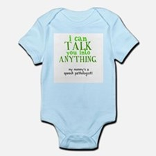 Cute Speech pathologist Infant Bodysuit