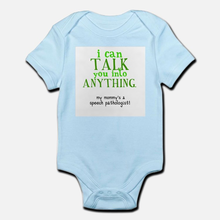 Cute Speech language pathologist assistant Infant Bodysuit