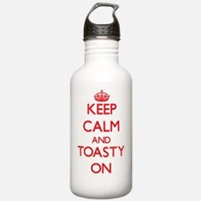 Keep Calm and Toasty O Water Bottle