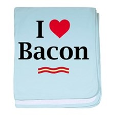 I Love Bacon... baby blanket