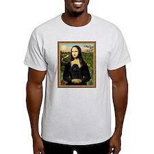 Unique Black miniature poodle T-Shirt