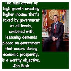 jeb bush quote Poster
