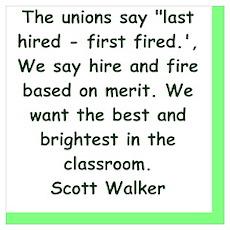 scott walker quote Poster