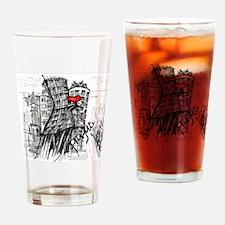 I love Prague Drinking Glass