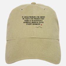 Mark Twain Criminal Congress Baseball Baseball Cap