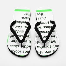 scott walker quote Flip Flops