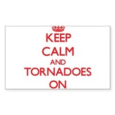 Keep Calm and Tornadoes ON Decal
