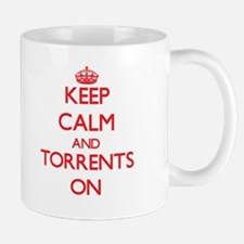 Keep Calm and Torrents ON Mugs