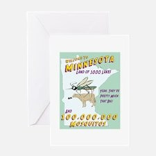 Minnesota Mosquitos Greeting Card