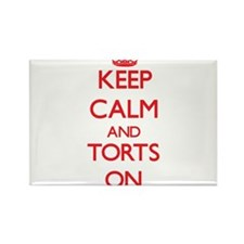 Keep Calm and Torts ON Magnets