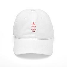 Keep Calm and Torts ON Baseball Baseball Cap