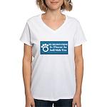 Bichon Women's V-Neck T-Shirt