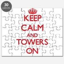 Keep Calm and Towers ON Puzzle