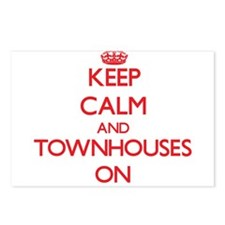 Keep Calm and Townhouses Postcards (Package of 8)