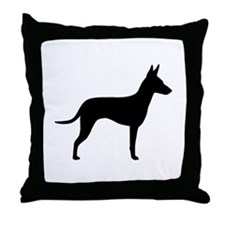 Manchester Terrier Throw Pillow