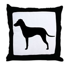 Manchester Natural Ears Throw Pillow