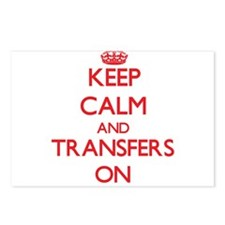 Keep Calm and Transfers O Postcards (Package of 8)