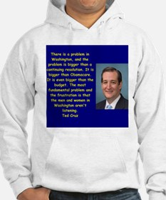 Funny Presidential candidate Hoodie