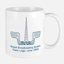 MBS.  MUTUAL RADIO NETWORK.  MUTUAL BRO Mug