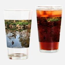 Himeji Japanese garden pond with du Drinking Glass