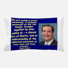 Unique Conservative quote Pillow Case