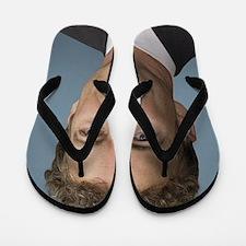 Rand Paul portrait Flip Flops