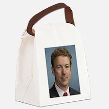 Rand Paul portrait Canvas Lunch Bag
