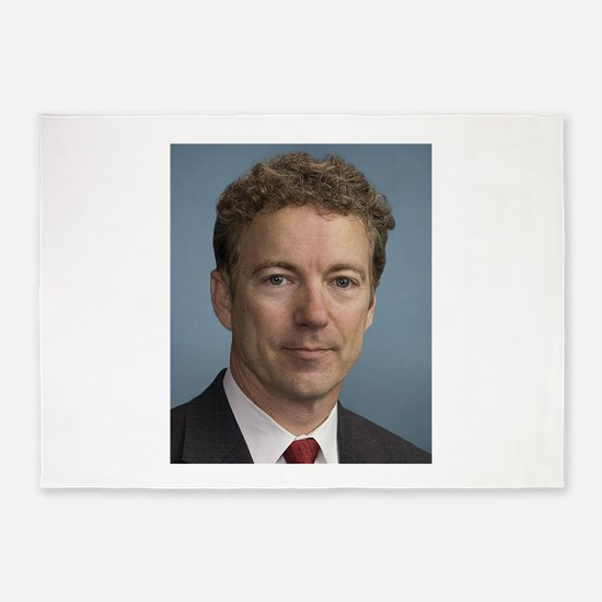 Rand Paul portrait 5'x7'Area Rug