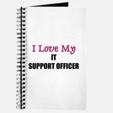 I Love My IT SUPPORT OFFICER Journal