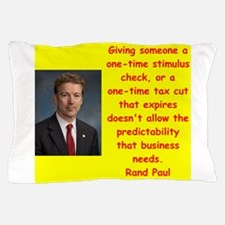 rand paul quotes Pillow Case