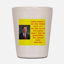 rand paul quotes Shot Glass