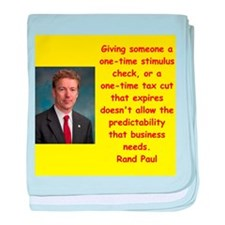 rand paul quotes baby blanket