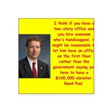 rand paul quotes Sticker
