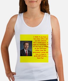 rand paul quotes Tank Top
