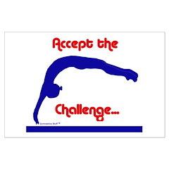Gymnastics Poster - Challenge