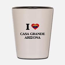 I love Casa Grande Arizona Shot Glass