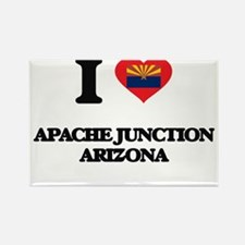 I love Apache Junction Arizona Magnets