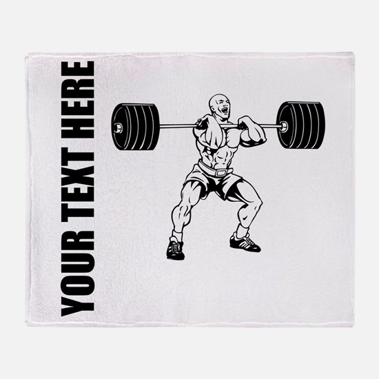 Power Lifting Throw Blanket