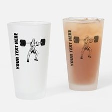 Power Lifting Drinking Glass