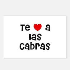 Te * a las Cabras Postcards (Package of 8)