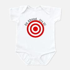 Hit Me! I Dare Ya! Infant Bodysuit