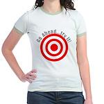 Hit Me! I Dare Ya! Jr. Ringer T-Shirt