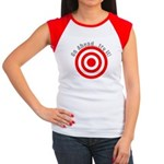 Hit Me! I Dare Ya! Women's Cap Sleeve T-Shirt
