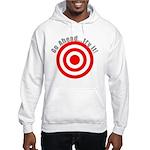 Hit Me! I Dare Ya! Hooded Sweatshirt