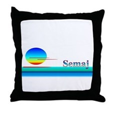 Semaj Throw Pillow