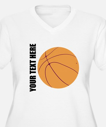 Basketball Plus Size T-Shirt