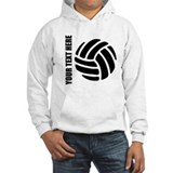 Volleyball Hooded Sweatshirt