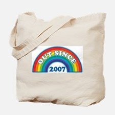 Out Since 2007 Tote Bag