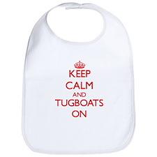 Keep Calm and Tugboats ON Bib
