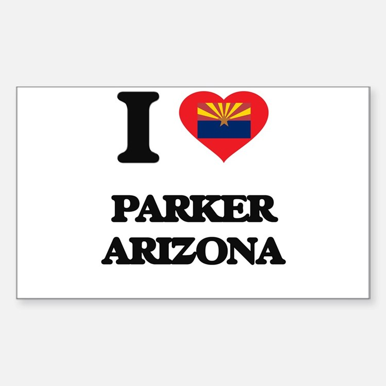 I love Parker Arizona Decal